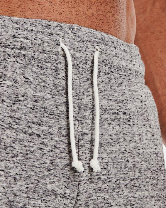 Men's Project Rock Terry Shorts, White, pdpMainDesktop image number 6