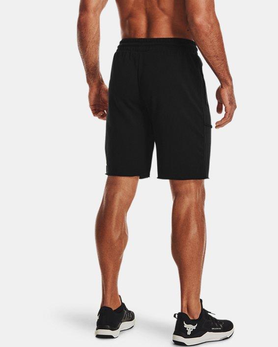 Men's Project Rock Terry Brahma Shorts, Black, pdpMainDesktop image number 2