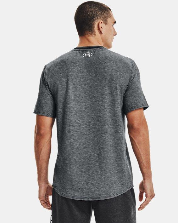 Men's UA RECOVER™ Short Sleeve, Black, pdpMainDesktop image number 2