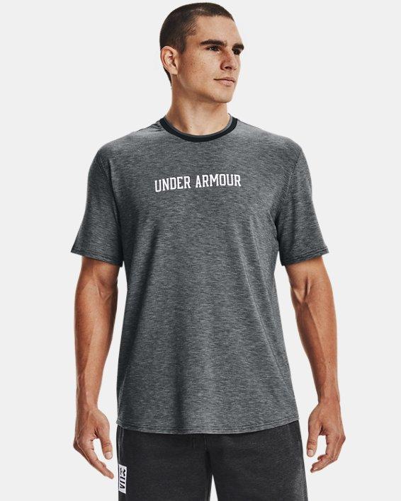 Men's UA RECOVER™ Short Sleeve, Black, pdpMainDesktop image number 1