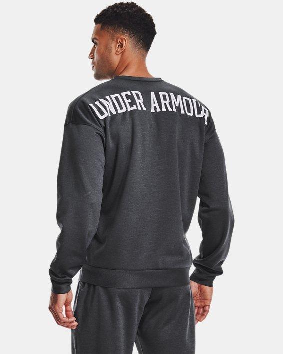 Men's UA RECOVER™ Crew Long Sleeve, Black, pdpMainDesktop image number 1