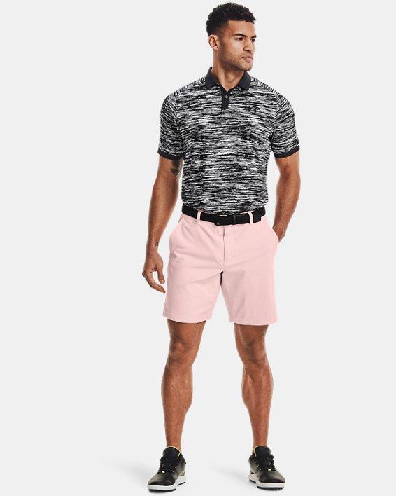 Men's UA Iso-Chill ABE Twist Polo, White, pdpMainDesktop image number 0