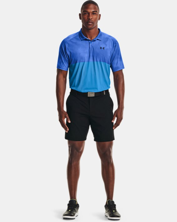 Men's UA Iso-Chill Afterburn Polo, Blue, pdpMainDesktop image number 0