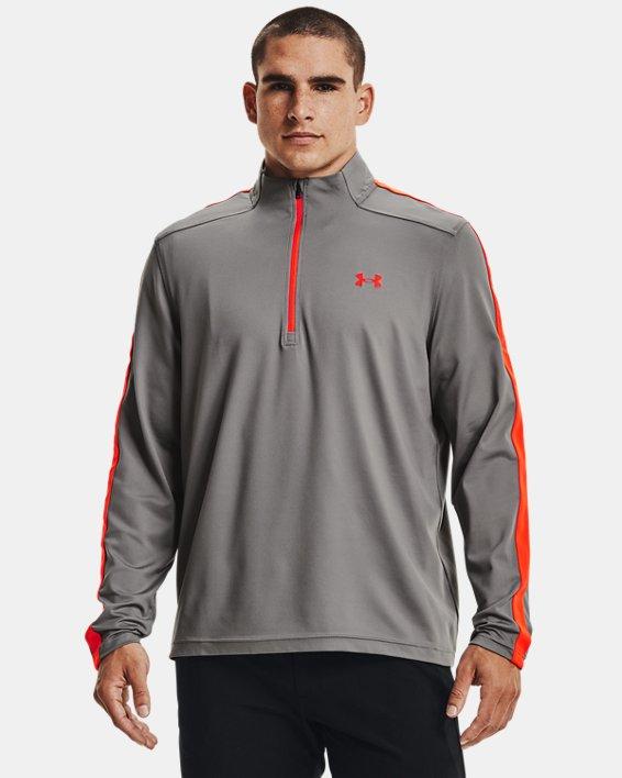 Men's UA Storm Midlayer ½ Zip, Gray, pdpMainDesktop image number 0