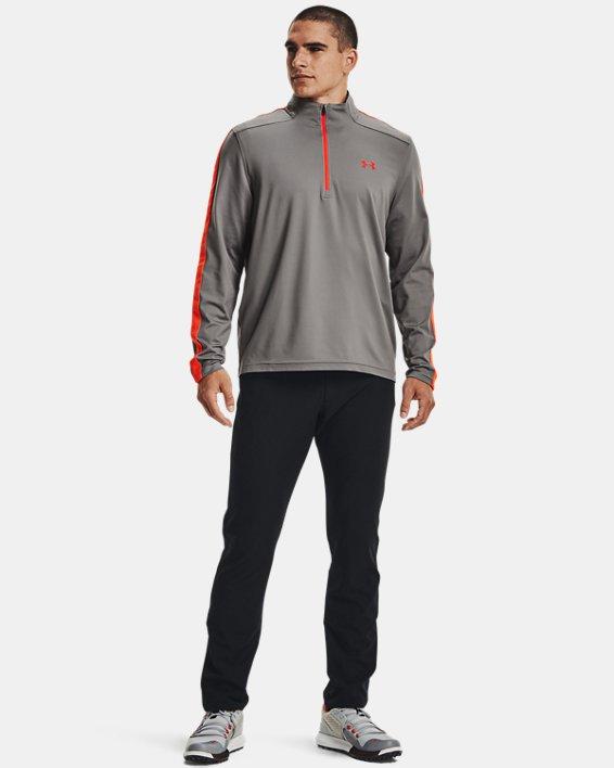 Men's UA Storm Midlayer ½ Zip, Gray, pdpMainDesktop image number 2