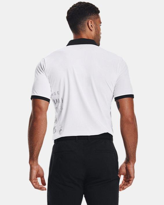 Men's Curry Vanish Polo, White, pdpMainDesktop image number 2