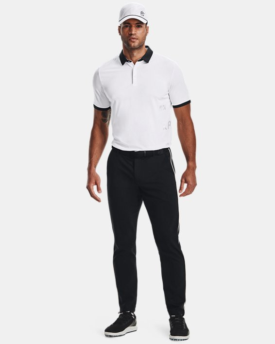 Men's Curry Vanish Polo, White, pdpMainDesktop image number 0