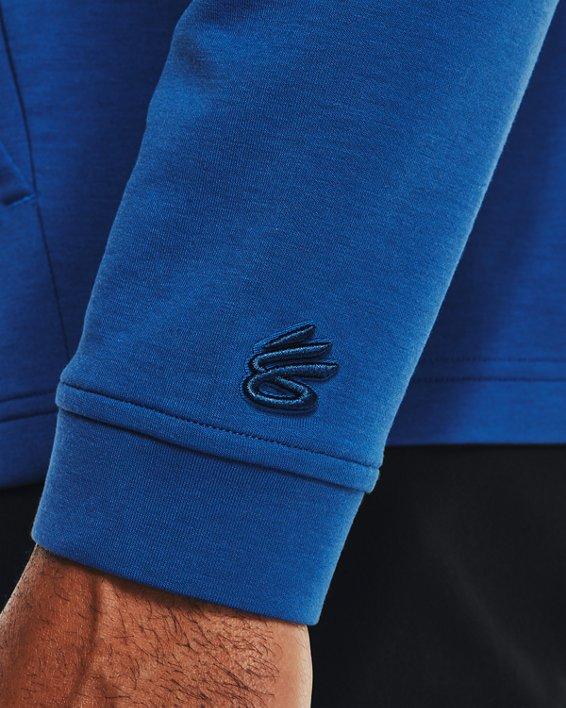 Men's Curry Mock ½ Zip, Blue, pdpMainDesktop image number 3