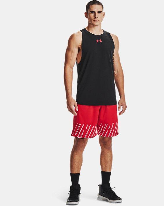 Men's UA Baseline Cotton Tank, Black, pdpMainDesktop image number 0