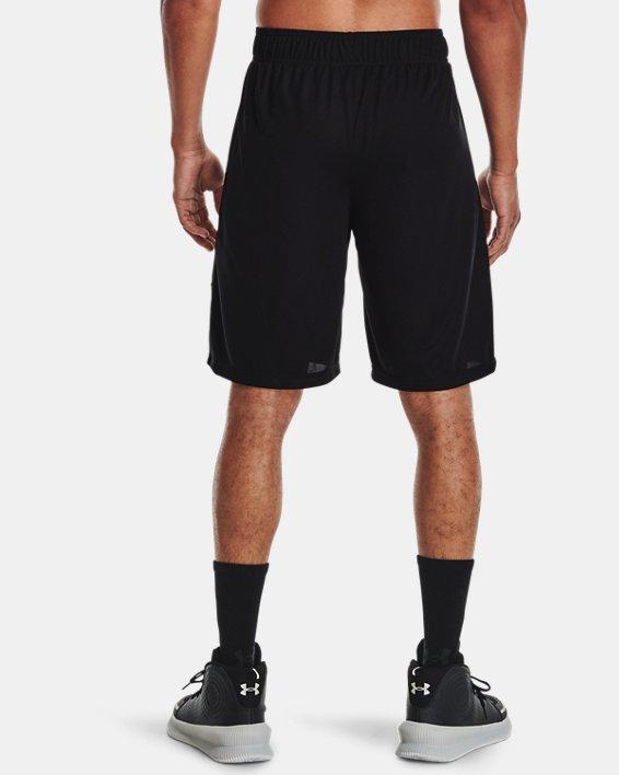 "Men's UA Baseline Speed 10"" Shorts, Black, pdpMainDesktop image number 2"