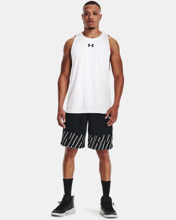 "Men's UA Baseline Speed 10"" Shorts, Black, pdpMainDesktop image number 0"