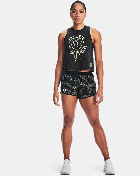 Women's UA Run Your Face Off Tank, Black, pdpMainDesktop image number 0