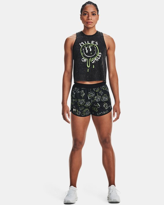 Women's UA Fly-By Run Your Face Off, Black, pdpMainDesktop image number 0