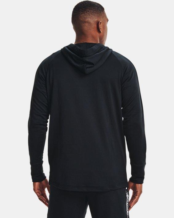 Men's UA Baseline Hoodie, Black, pdpMainDesktop image number 2