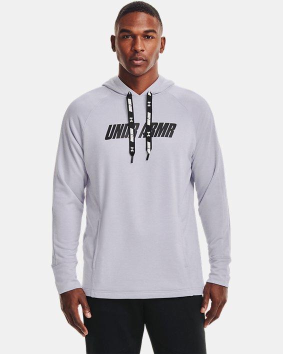 Men's UA Baseline Hoodie, Gray, pdpMainDesktop image number 1