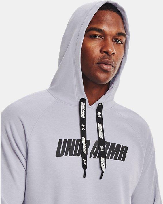 Men's UA Baseline Hoodie, Gray, pdpMainDesktop image number 5
