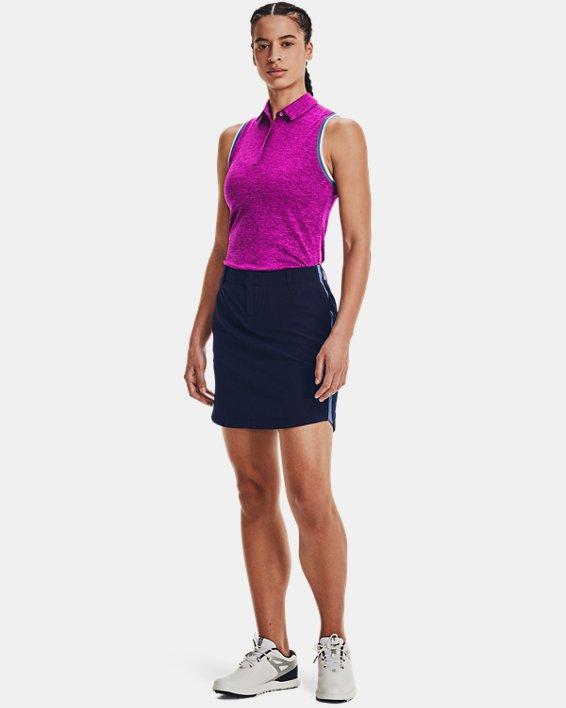Women's UA Zinger Sleeveless Tipped Polo