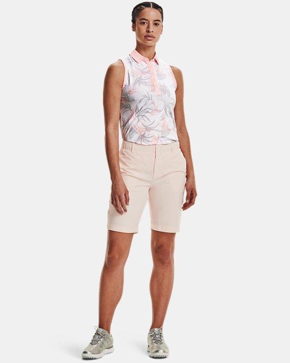Damen Poloshirt UA Zinger, ärmellos, White, pdpMainDesktop image number 0