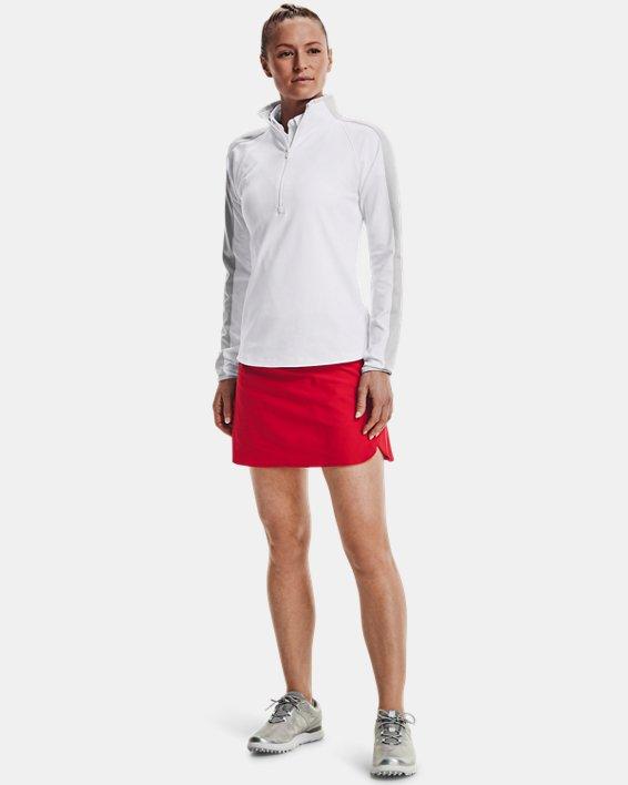 Damen UA Storm Midlayer mit ½ Zip, White, pdpMainDesktop image number 2