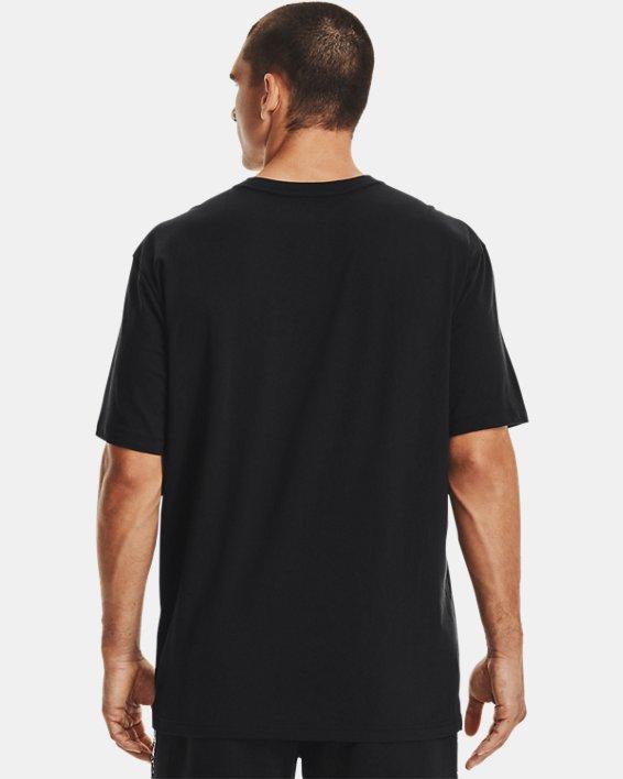 Men's UA Baseline Essential T-Shirt, Black, pdpMainDesktop image number 2