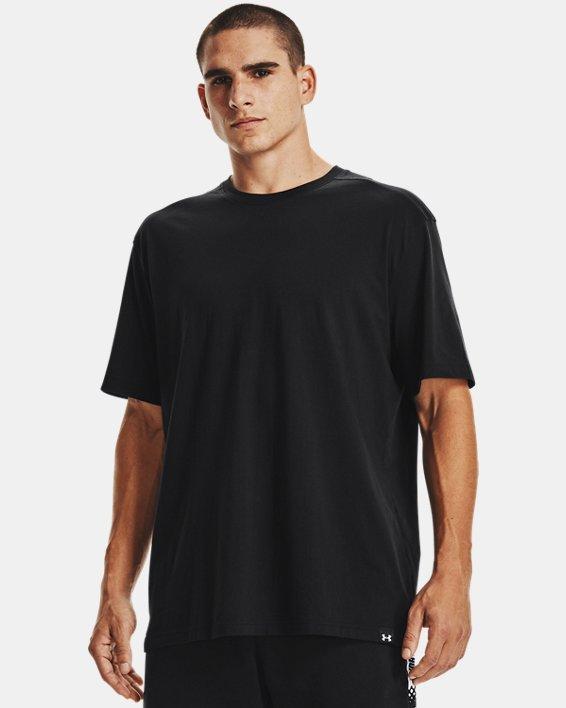 Men's UA Baseline Essential T-Shirt, Black, pdpMainDesktop image number 1