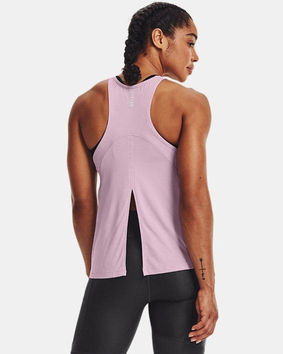 Women's UA Iso-Chill Run Tank, Pink, pdpMainDesktop image number 0