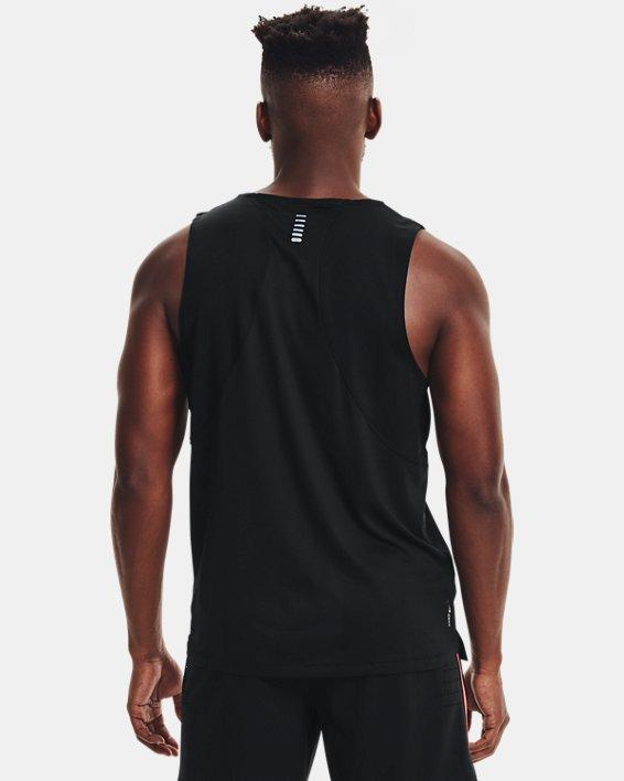 Men's UA Iso-Chill Run Singlet, Black, pdpMainDesktop image number 2