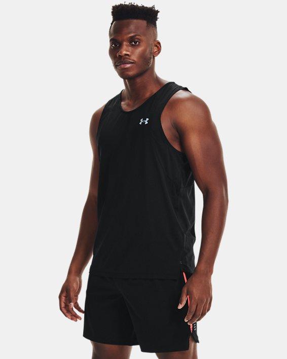 Men's UA Iso-Chill Run Singlet, Black, pdpMainDesktop image number 1