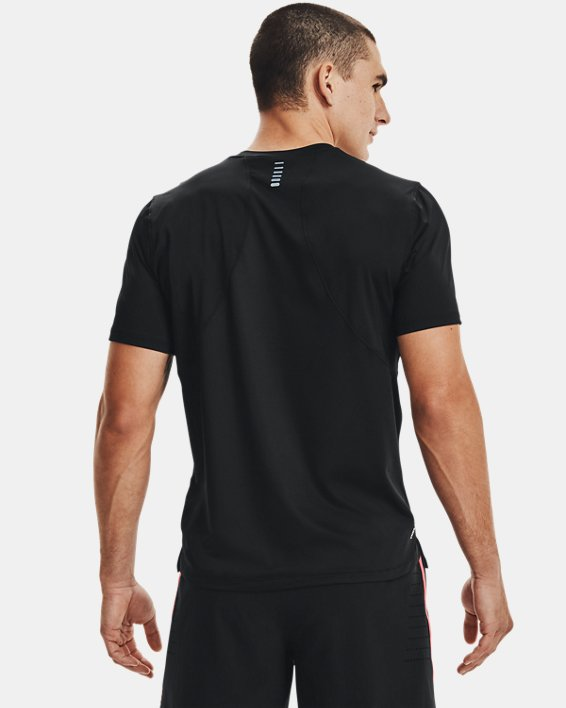Men's UA Iso-Chill Run Short Sleeve, Black, pdpMainDesktop image number 1