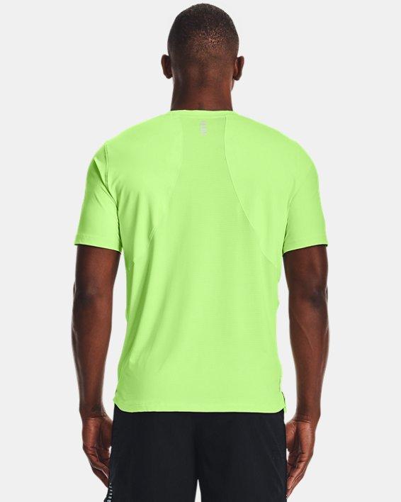 Men's UA Iso-Chill Run Short Sleeve, Green, pdpMainDesktop image number 1