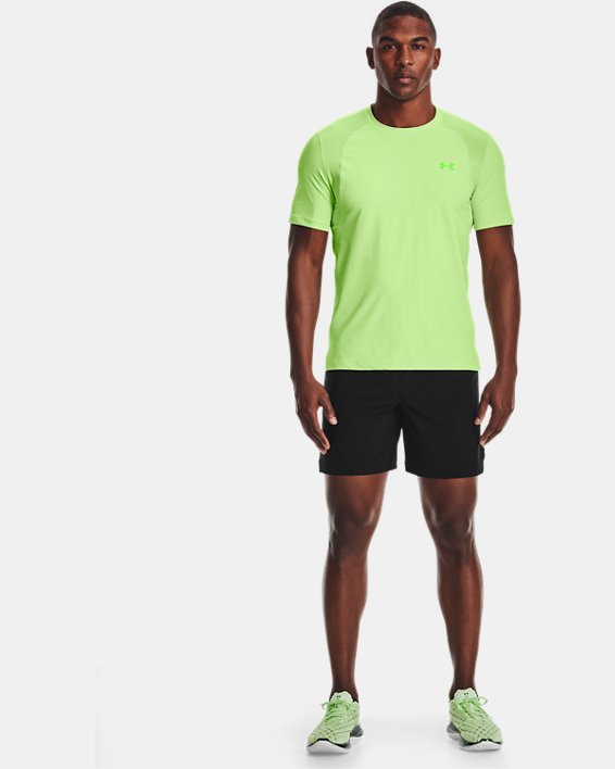 Men's UA Iso-Chill Run Short Sleeve, Green, pdpMainDesktop image number 2