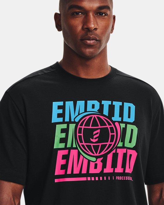 Men's UA Embiid 21 T-Shirt, Black, pdpMainDesktop image number 5