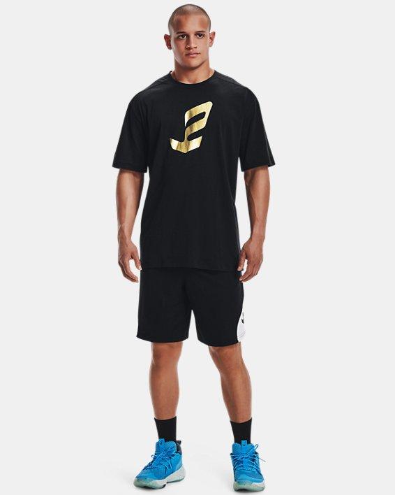Men's UA Embiid Gold Mine T-Shirt, Black, pdpMainDesktop image number 0