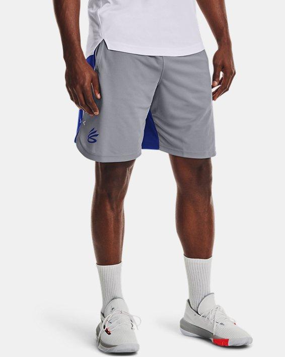 Men's Curry UNDRTD Splash Shorts, Gray, pdpMainDesktop image number 0