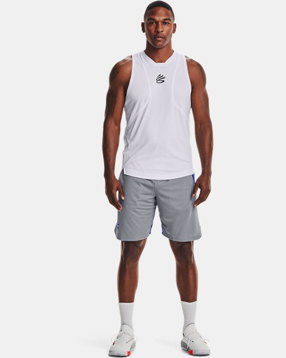 Men's Curry UNDRTD Splash Shorts, Gray, pdpMainDesktop image number 2