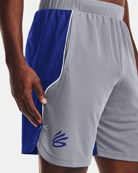 Men's Curry UNDRTD Splash Shorts, Gray, pdpMainDesktop image number 3