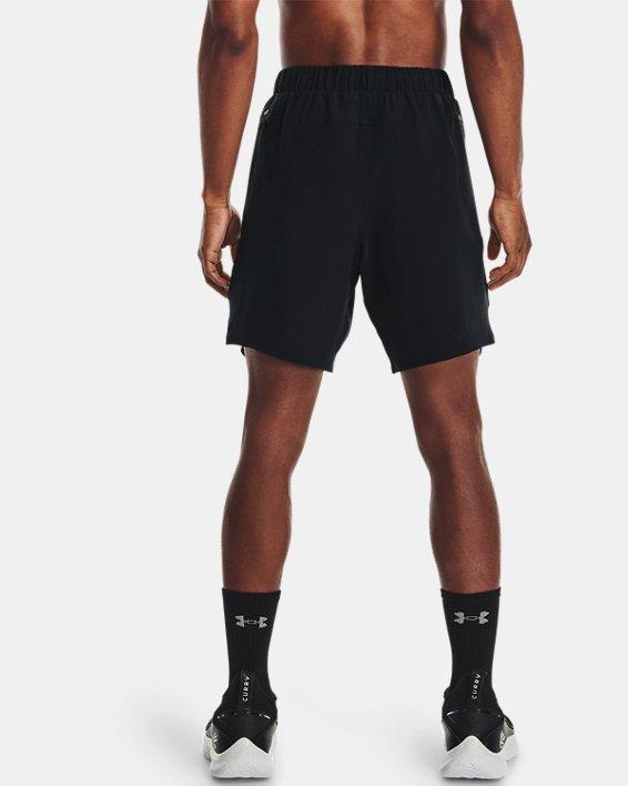 Men's Curry UNDRTD Utility Shorts, Black, pdpMainDesktop image number 2