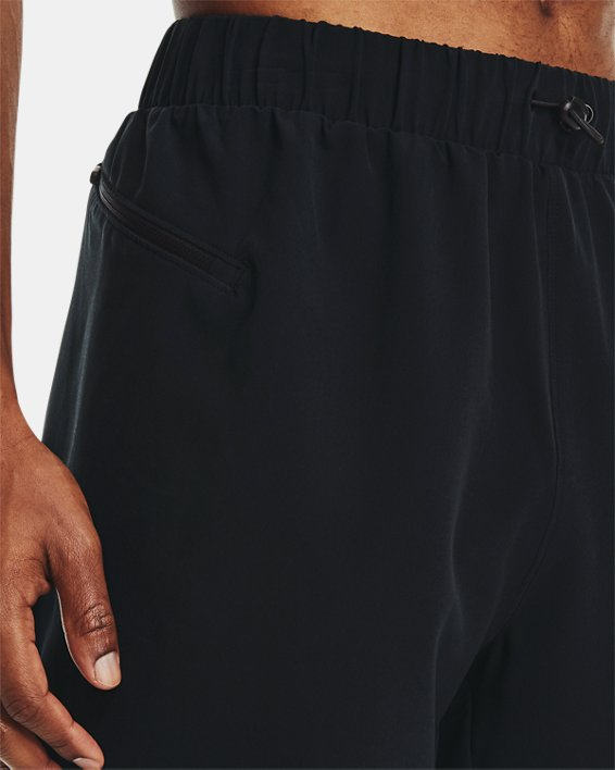 Men's Curry UNDRTD Utility Shorts, Black, pdpMainDesktop image number 6