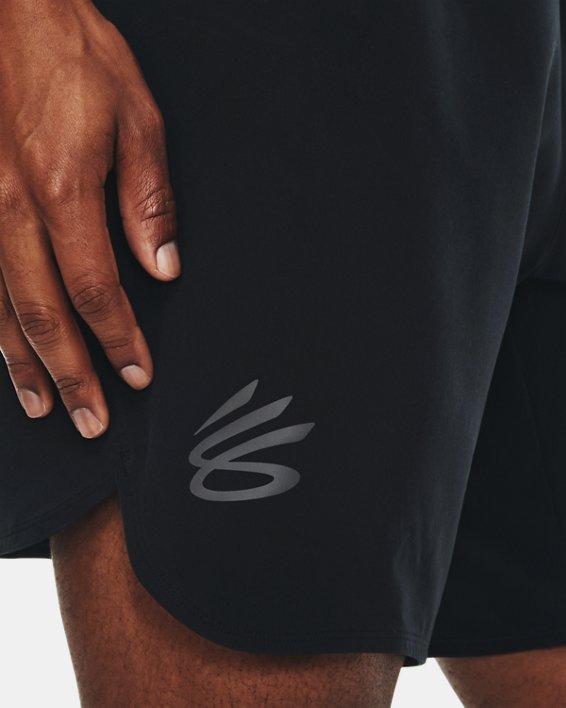 Men's Curry UNDRTD Utility Shorts, Black, pdpMainDesktop image number 3