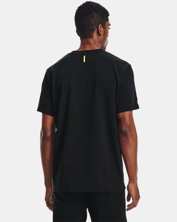 Men's Curry Embroidered UNDRTD T-Shirt, Black, pdpMainDesktop image number 2