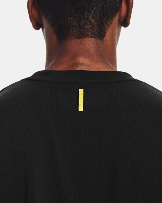 Men's Curry Embroidered UNDRTD T-Shirt, Black, pdpMainDesktop image number 6