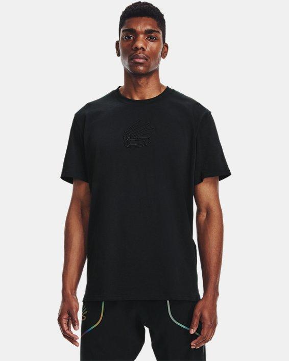 Men's Curry Embroidered UNDRTD T-Shirt, Black, pdpMainDesktop image number 1
