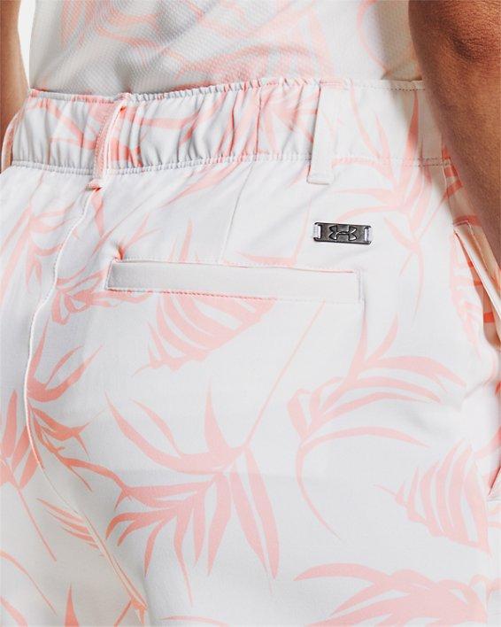 Women's UA Links Printed Shorts, White, pdpMainDesktop image number 3