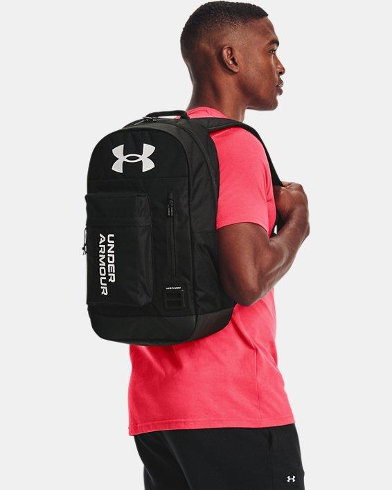 Unisex UA Halftime Backpack, Black, pdpMainDesktop image number 0