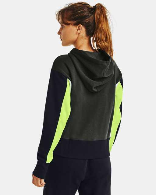 Women's UA Rival Fleece Embroidered Full Zip Hoodie