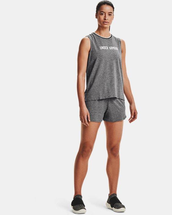 Women's UA RECOVER™ Sleepwear Tank, Black, pdpMainDesktop image number 0