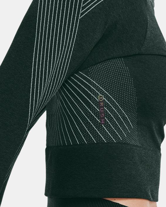 Women's UA RUSH™ Seamless Long Sleeve, Green, pdpMainDesktop image number 3