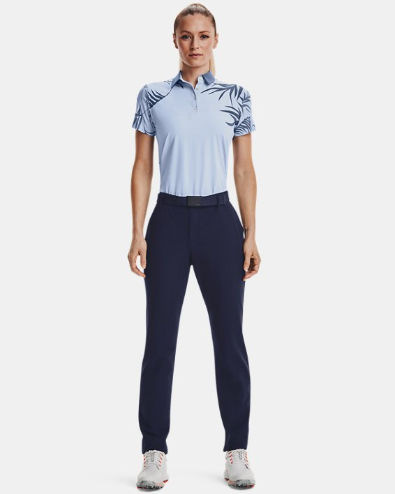 Women's UA Links Pants, Navy, pdpMainDesktop image number 0