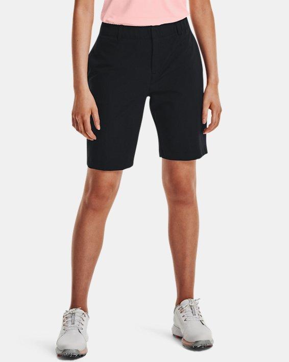 Women's UA Links Shorts, Black, pdpMainDesktop image number 0