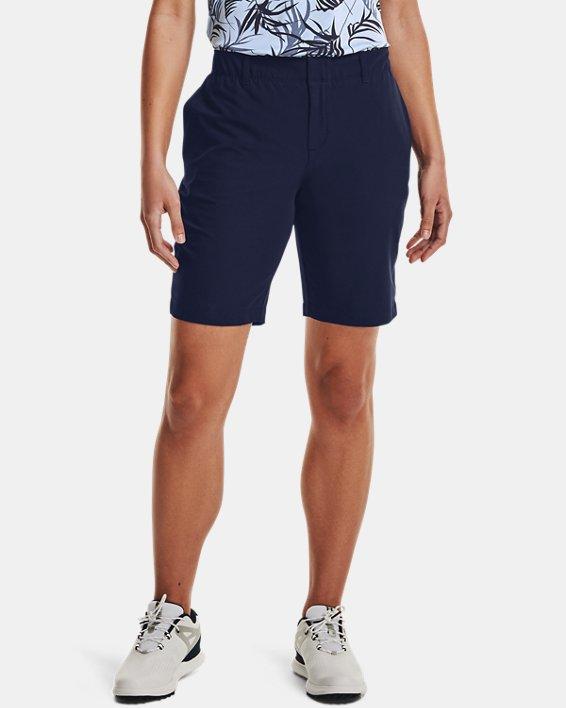 Women's UA Links Shorts, Navy, pdpMainDesktop image number 0